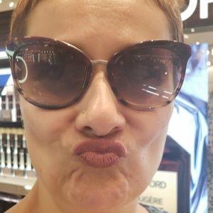 Tom Ford Emma Brown Gradient Sunglasses